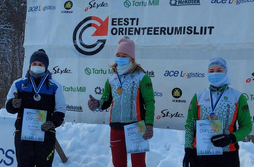 Mattis Jaama ja Daisy Kudre kaitsesid Eesti meistritiitleid