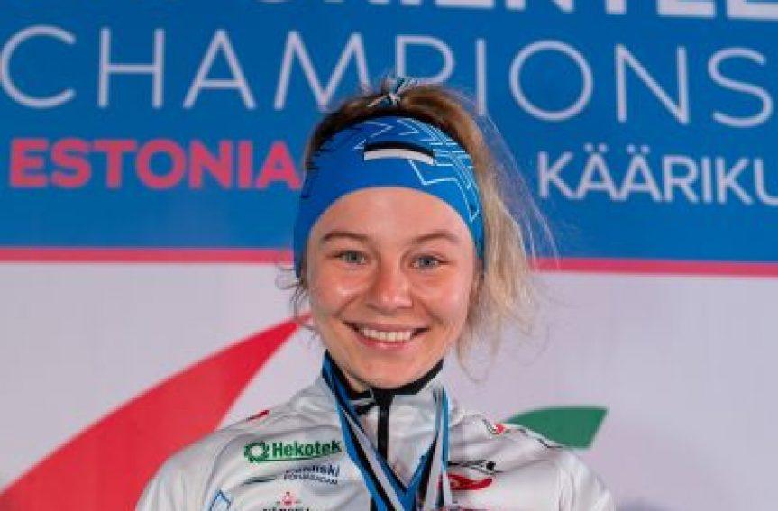 Taas medal! Daisy Kudre võitis jälitussõidus hõbemedali!