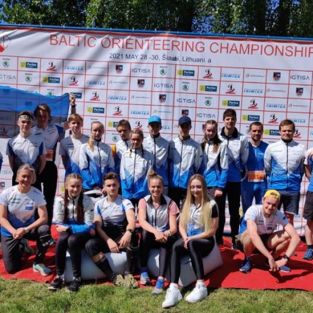 Eesti noorte- ja täiskasvanute koondis Balti meistrivõistlustel väljas vähendatud koondisega