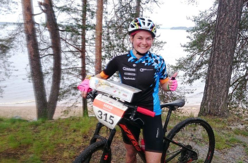 Rattaorienteerumise juunioride MMilt Soomes Mari Linnusele kõrge 5. koht!