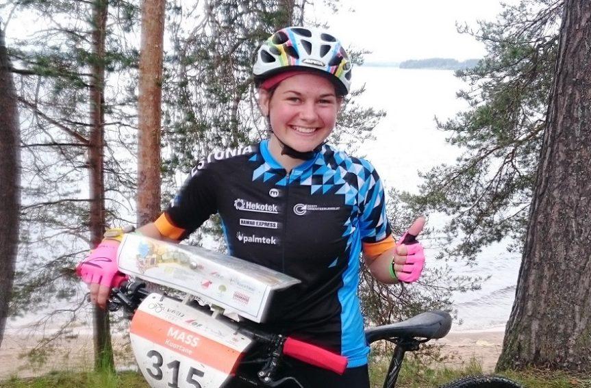Mari Linnus võitis rattaorienteerumise juunioride MMil lühirajal hõbemedali!
