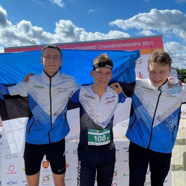 Eesti noormehed võitsid noorte EMil teatepronksi