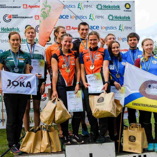 Orienteerumise sprinditeates tuli Eesti meistriks OK Võru võistkond